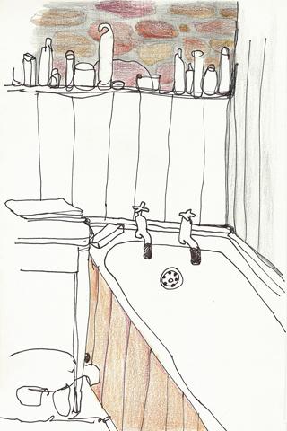 aquarel badkamer 320x480 RGB