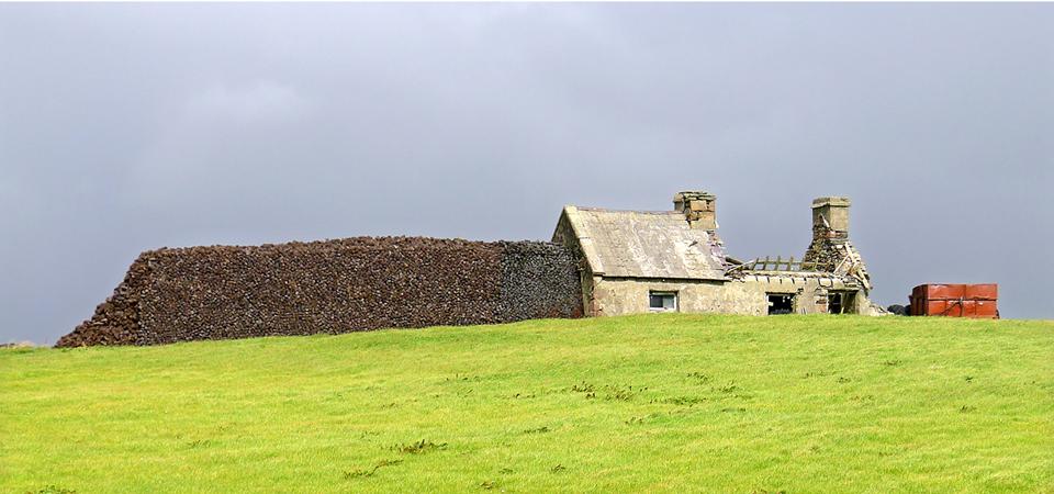 turf agaist ruin, Ballycroy