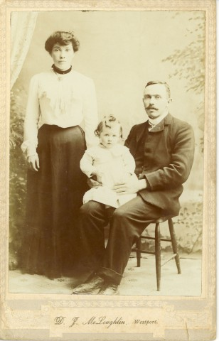photograph from the Sweeney family archive, courtesy of Charles Tyrell