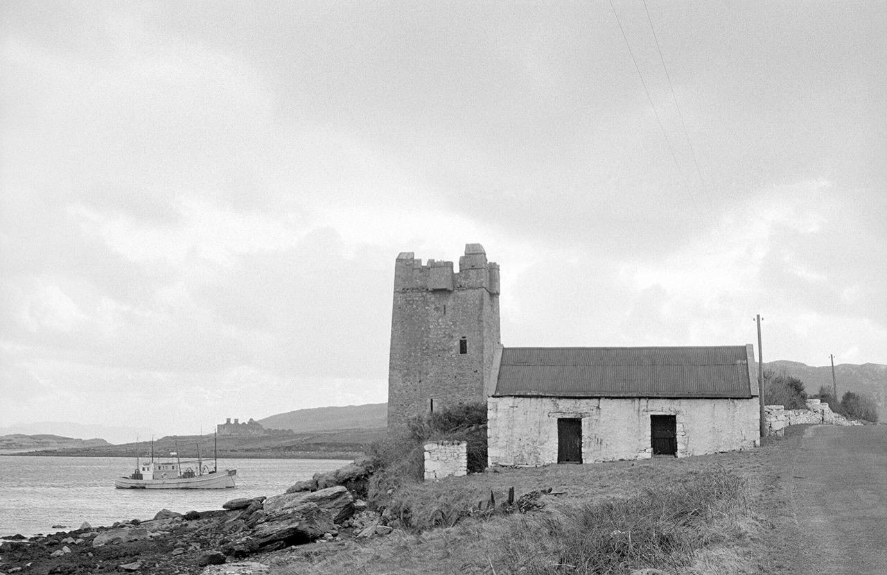 Grace O'Malley's Castle, Achill 1974, Ireland© Con Mönnich