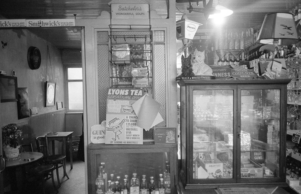 Pub Store Achill 1974 © Con Monnich