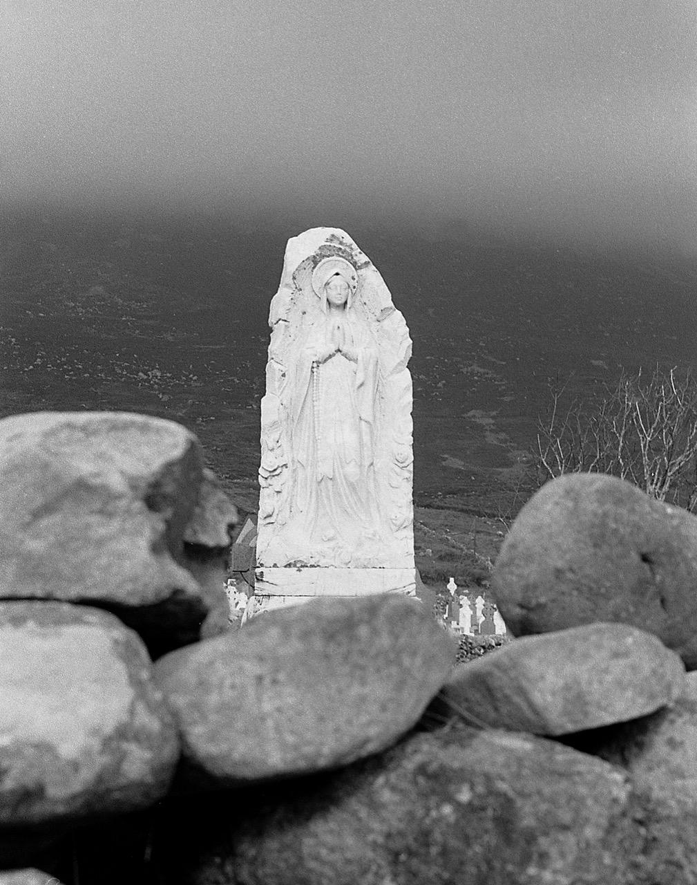 Slievemore cemetery Achill 1974 © Con Monnich
