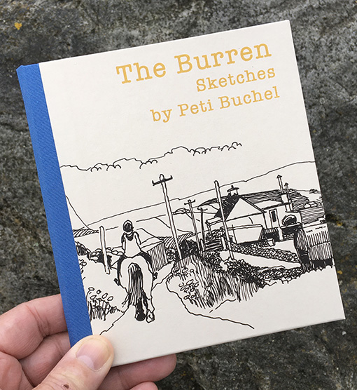 The Burren Sketches by Peti Buchel