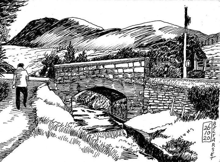 Old bridge on the border between Polranny Sweeney and Belfarset