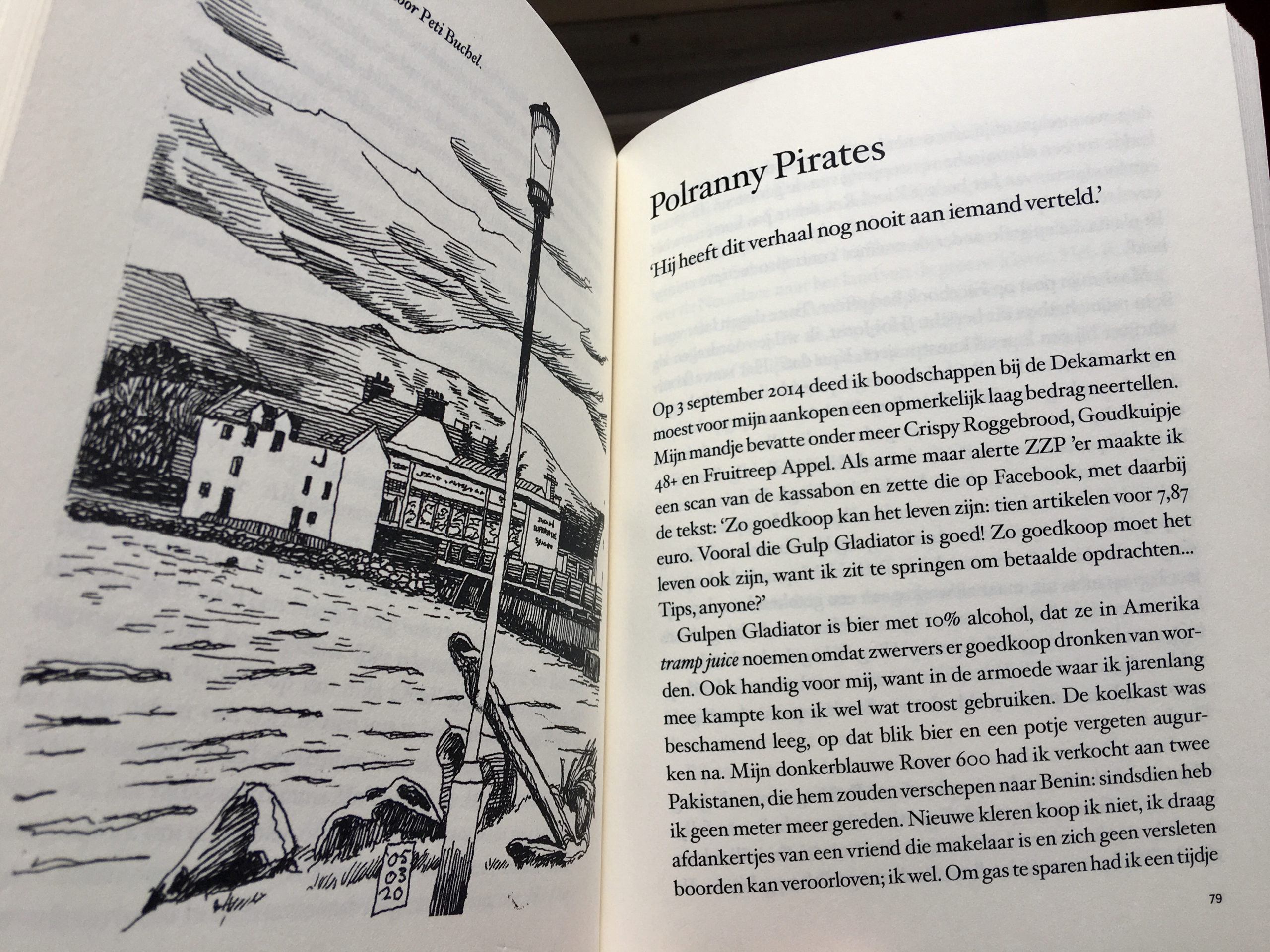 A page from this bundle of travel stories: Sneu Karma (Pollmann in Polranny)